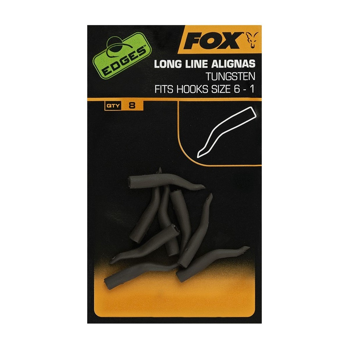 Алайнери Fox Edges Long Line Alignas Tungsten