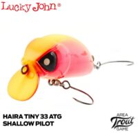 Воблер Lucky John Haira Tiny ATG Shallow Pilot 33F