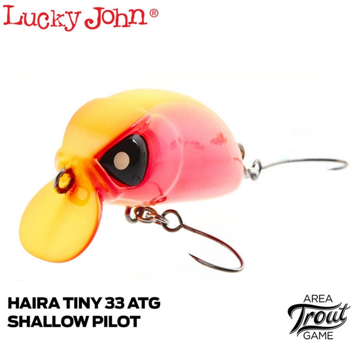 Воблер Lucky John Haira Tiny ATG Shallow Pilot 33F