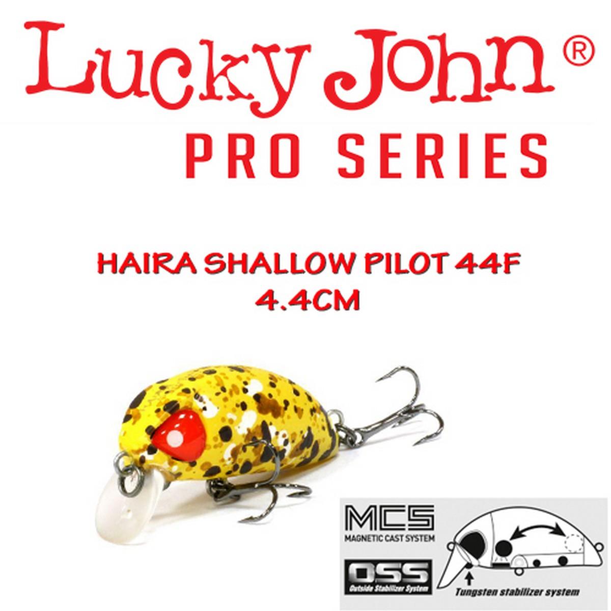 Воблер Lucky John Haira Tiny Shallow Pilot 44F