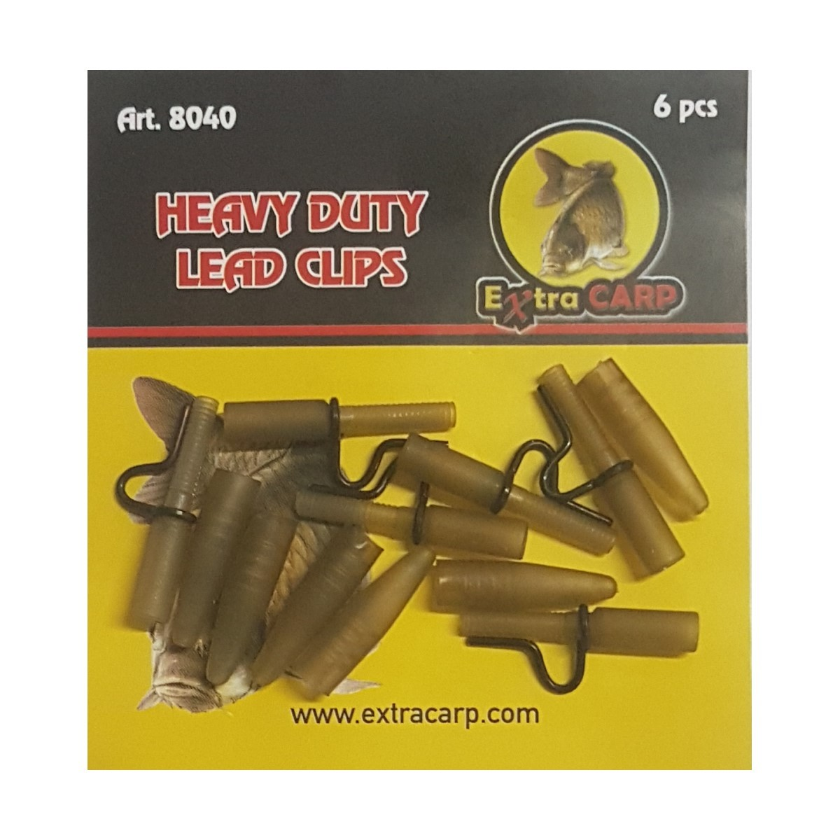 Клипс за олово Extra Carp Heavy Duty Lead Clips