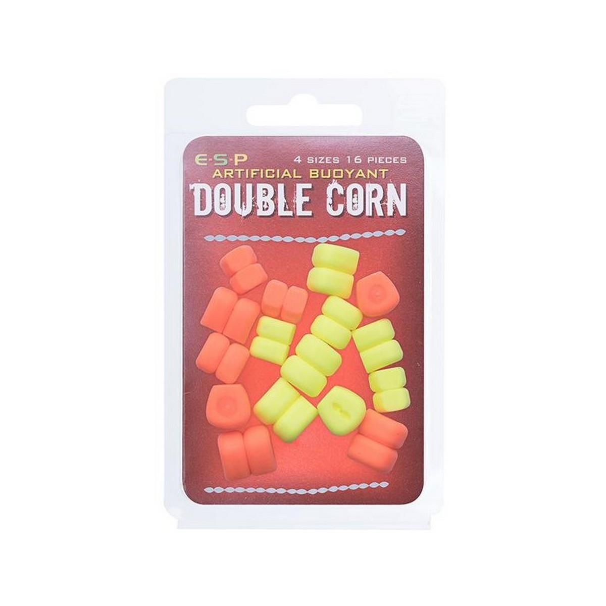 Плуваща изкуствена двойна царевица ESP Double Corn - Fluoro Yellow & Orange