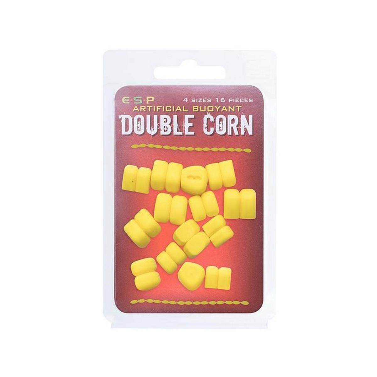 Плуваща изкуствена двойна царевица ESP Double Corn - Yellow