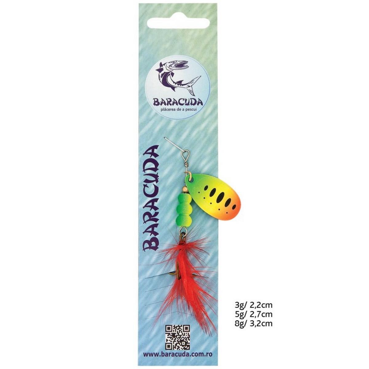 Риболовна блесна Baracuda SF05-28