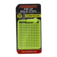 Стопери за косъм Starbaits Pop-up Boilie Stops Fluoro Yellow