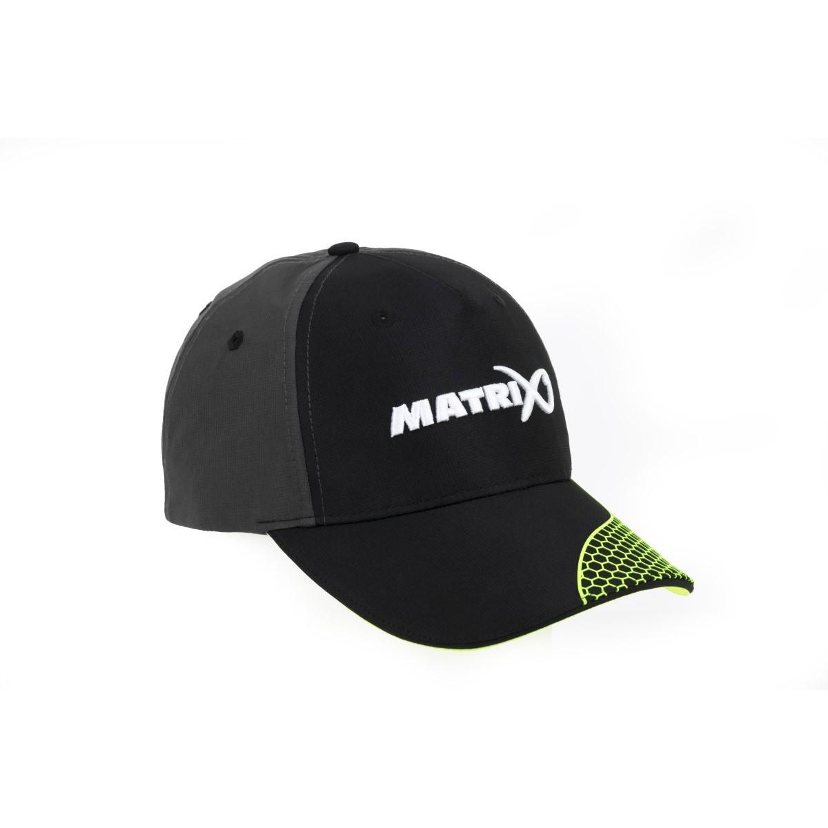 Шапка с козирка Matrix Grey Lime Baseball Cap