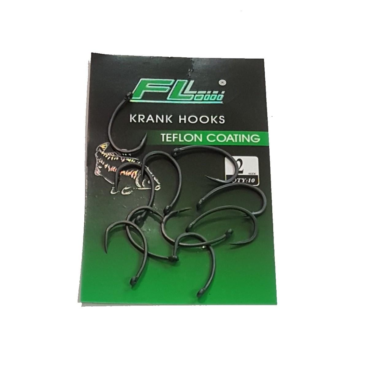 Шарански куки FL Krank Hook Teflon
