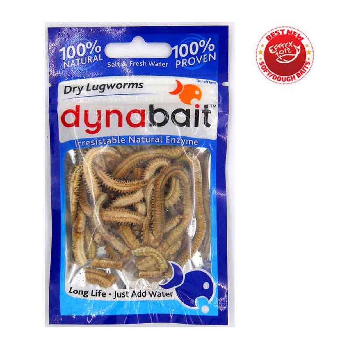 Dynabait Freeze Dried Lug Worms - изсушени червеи