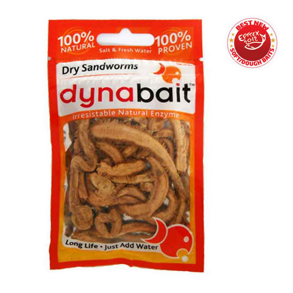 Dynabait Freeze Dried Sand Worms - изсушени червеи