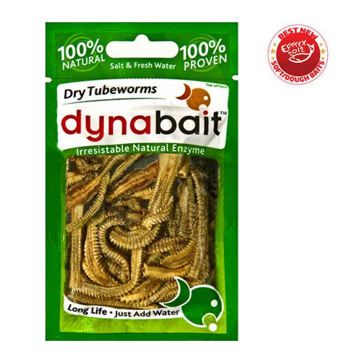 Dynabait Freeze Dried Tube Worms - изсушени червеи