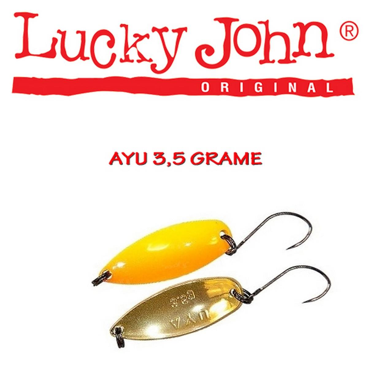 Блесна клатушка Lucky John AYU 3.5g