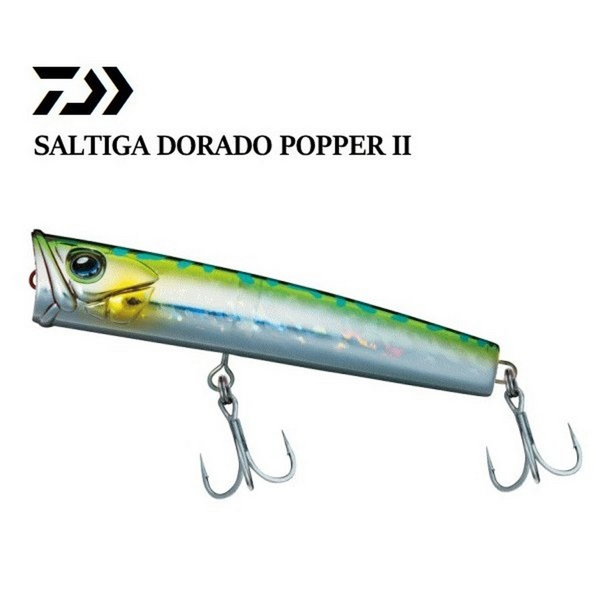 Воблер Попер Daiwa Saltiga Dorado Popper II130F