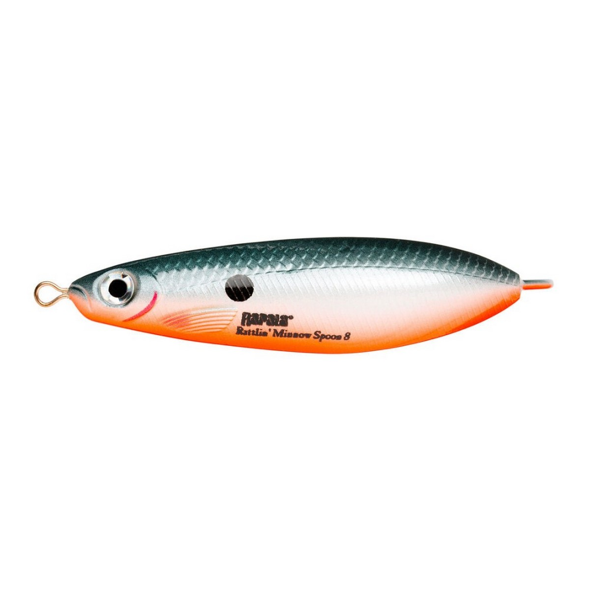 Воблер Rapala Rattlin Minnow Spoon 8см