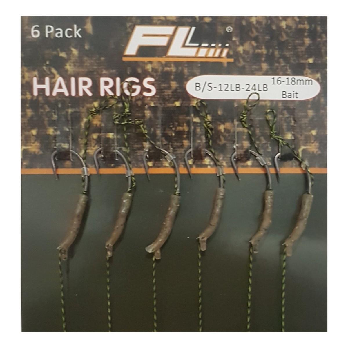 Куки вързани на косъм FL Hair Rigs Teflon Aligna 2