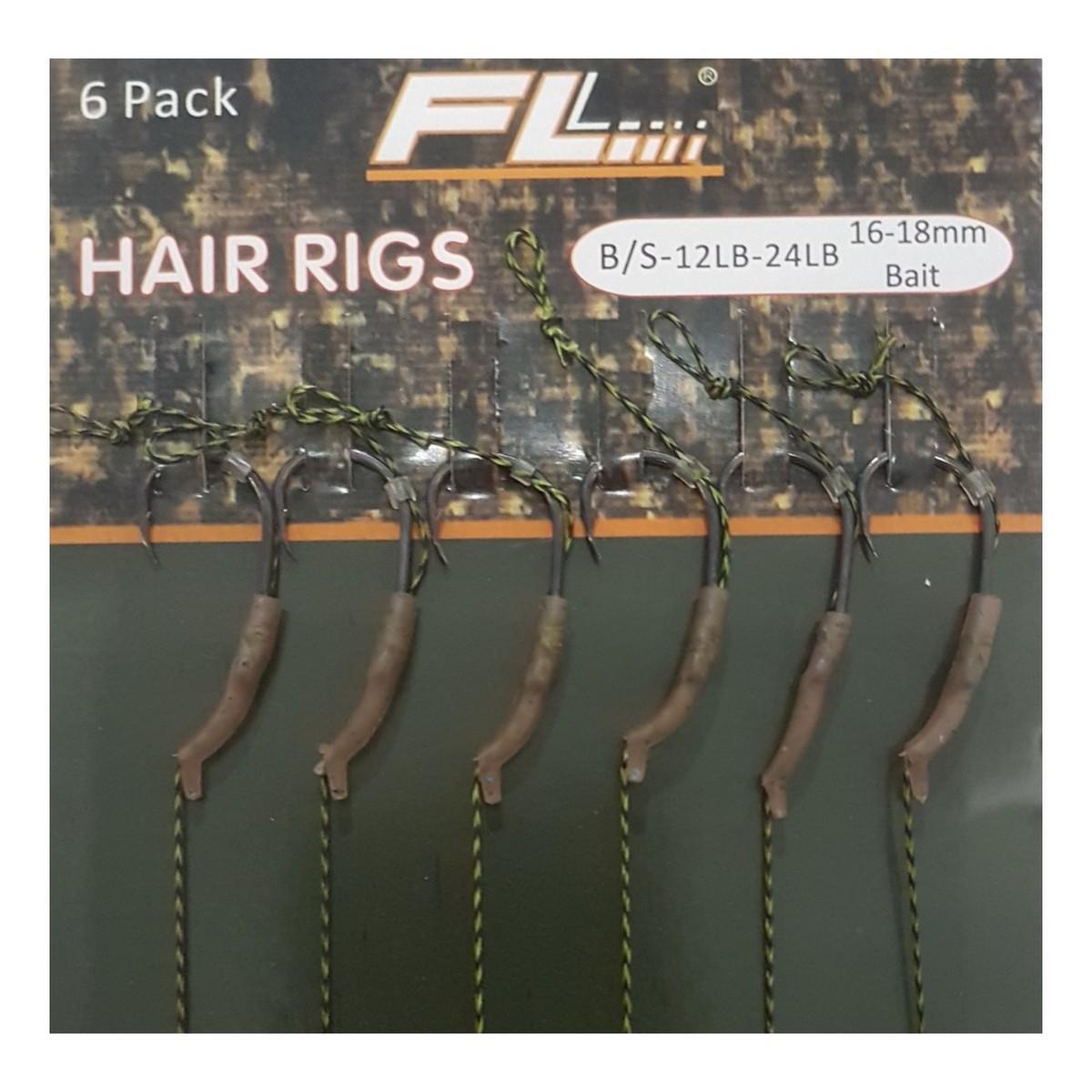 Куки вързани на косъм FL Hair Rigs Teflon Aligna