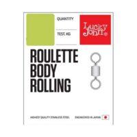 Вирбел Lucky John Roulette Body Rolling Swivel