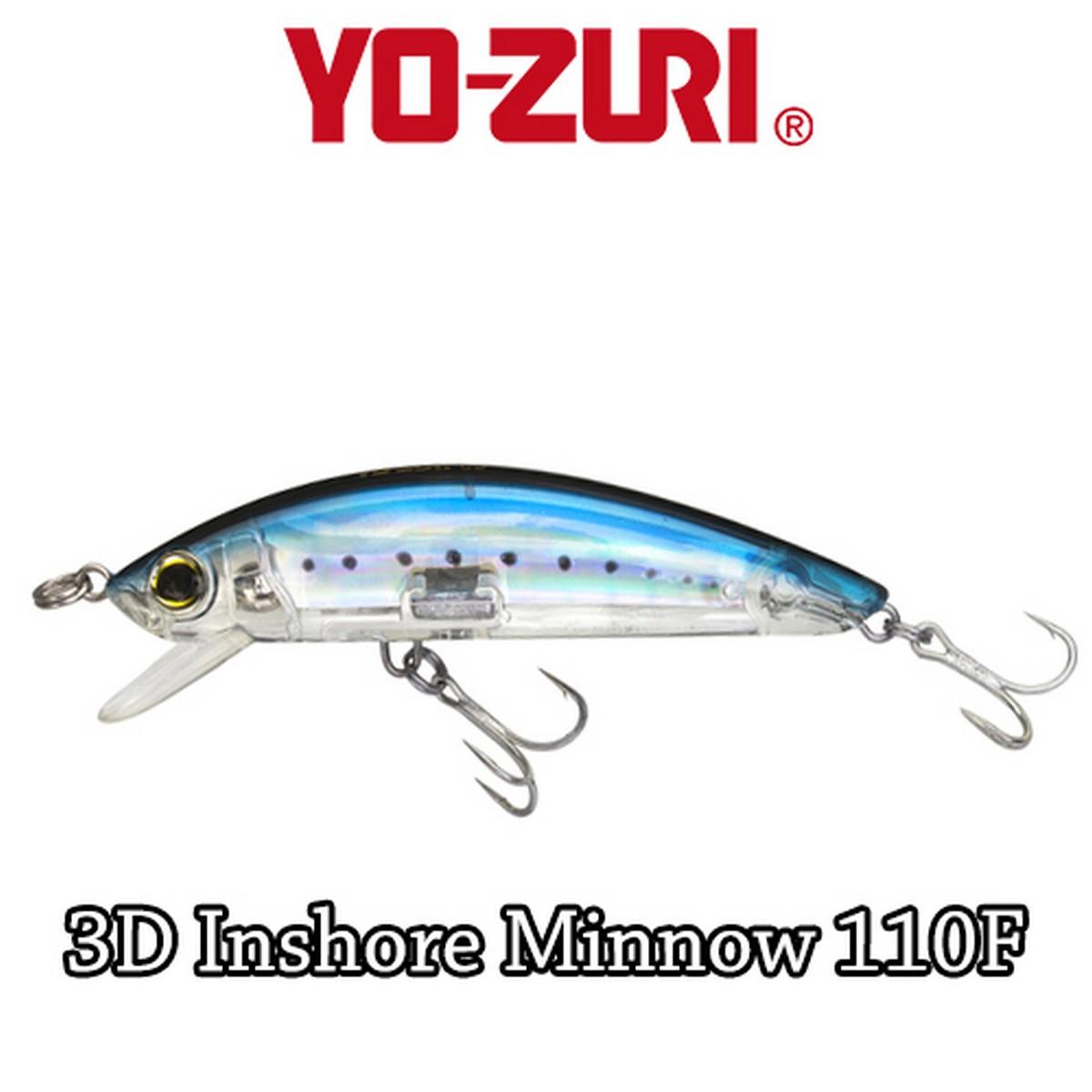 Воблер Yo-Zuri 3D Inshore Minnow(F) 110mm R1213