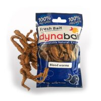 Dynabait Hydrated Blood worms fresh - морски червеи
