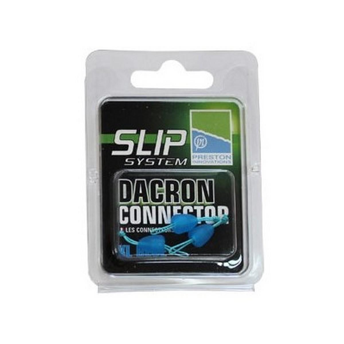 Конектор за ластик Preston Dacron Connector Blue