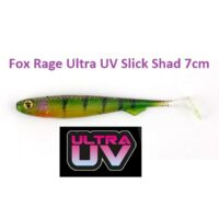 Силиконова примамка Fox Rage Ultra UV Slick Shad 7cm