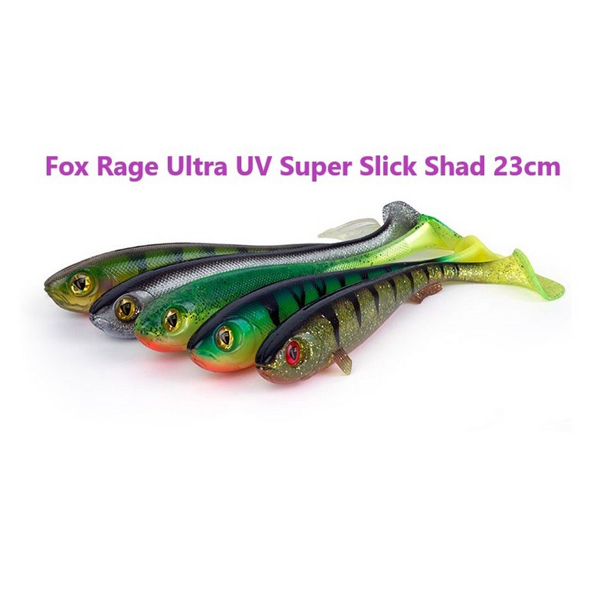 Fox Rage Ultra UV Super Slick Shad 23cm