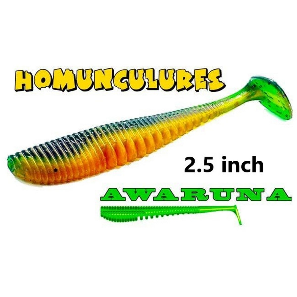 Силиконова примамка Pontoon 21 Awaruna 2.5inch