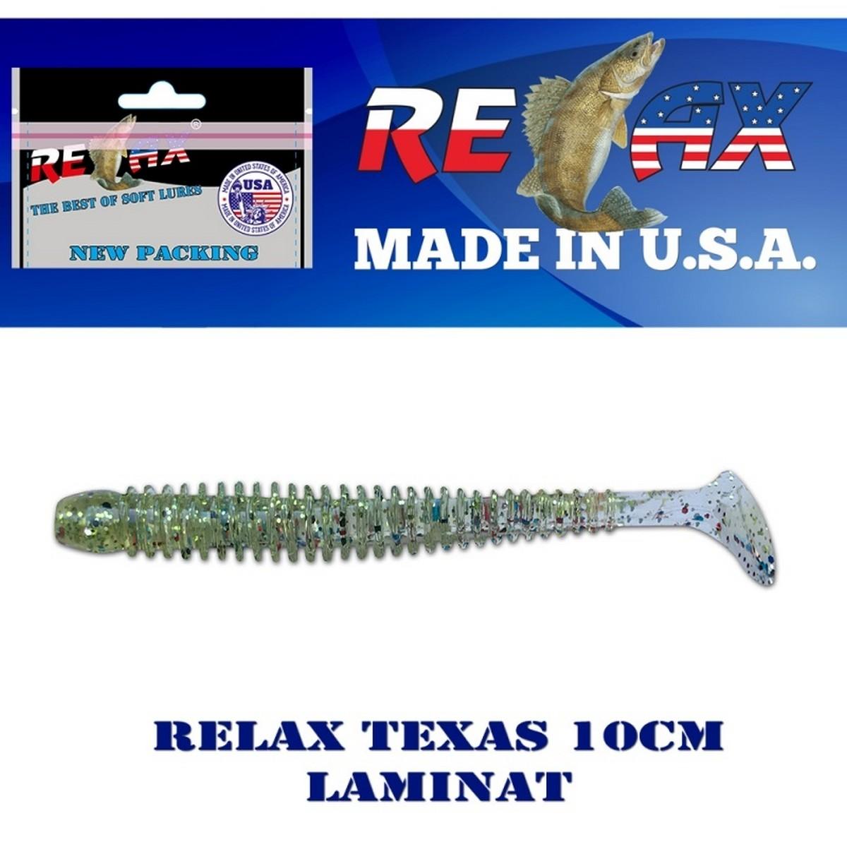 Силиконова примамка Relax Texas 10см Laminat 2