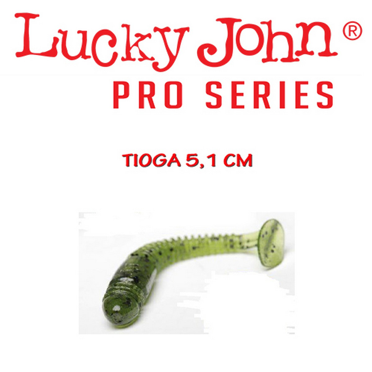 """Туистер Lucky John Tioga 5.1cm (2"""")"""