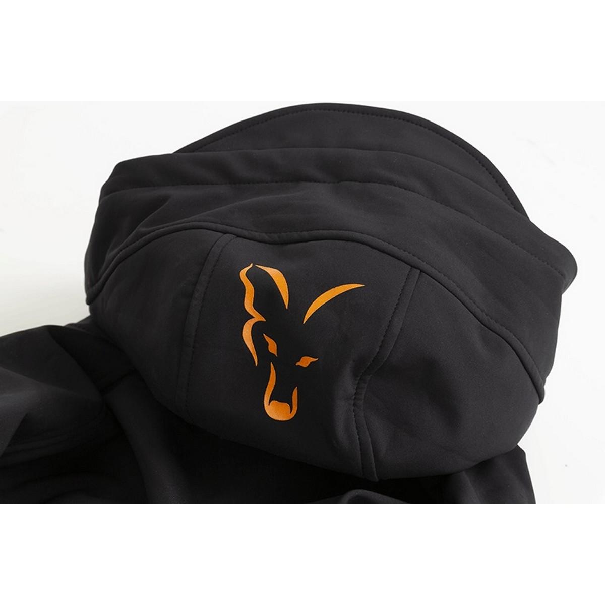 Яке Fox Collection Orange and Black Shell Hoodie