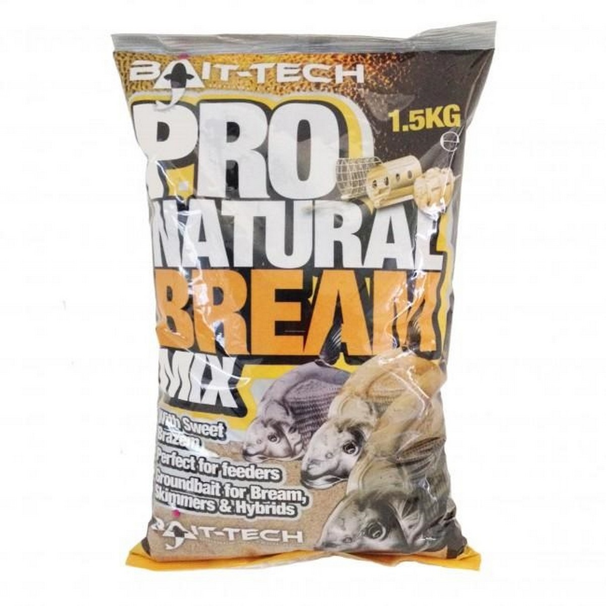 Захранка Bait-Tech Pro Natural Bream Groundbait 1.5kg