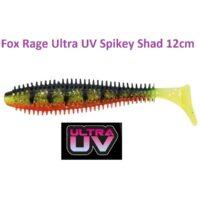 Силиконова примамка Fox Rage Ultra UV Spikey Shad 12см