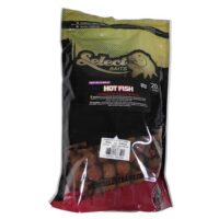 Разтворими протеинови топчета Select Baits Hot Fish 1kg