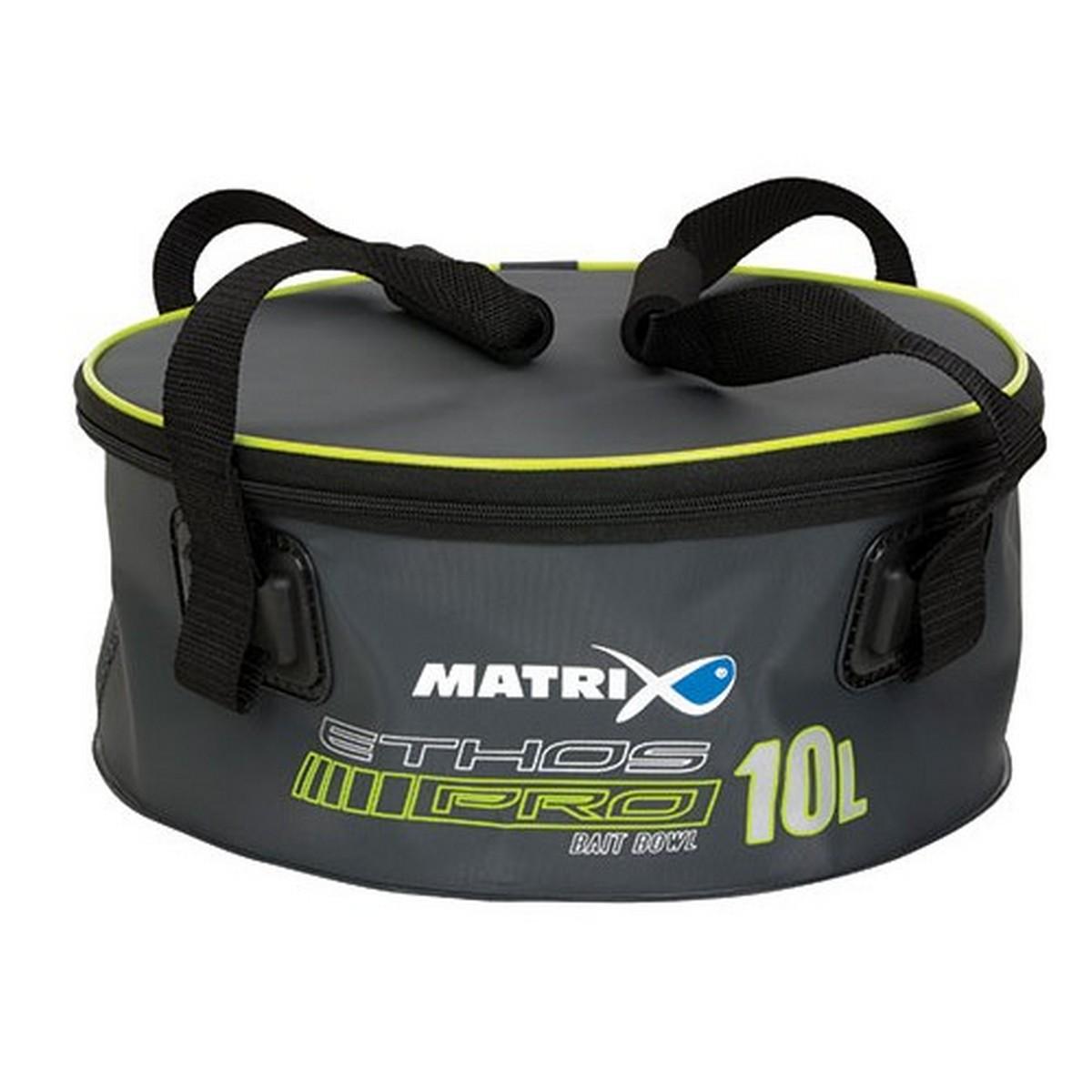 Футер с капак Matrix ETHOS Pro EVA Bait Bowl 10л