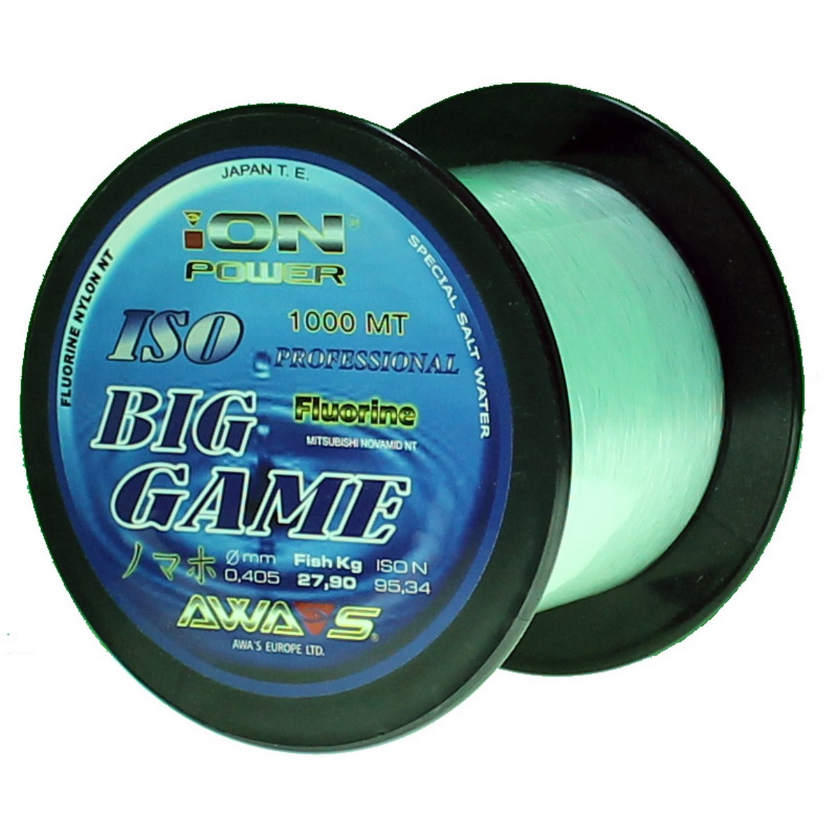 Шаранско влакно Awa-Shima Ion Power Big Game Blue 1000m
