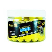 Select Baits Fluoro Yellow Winter Blend Pop-up – плуващи топчета