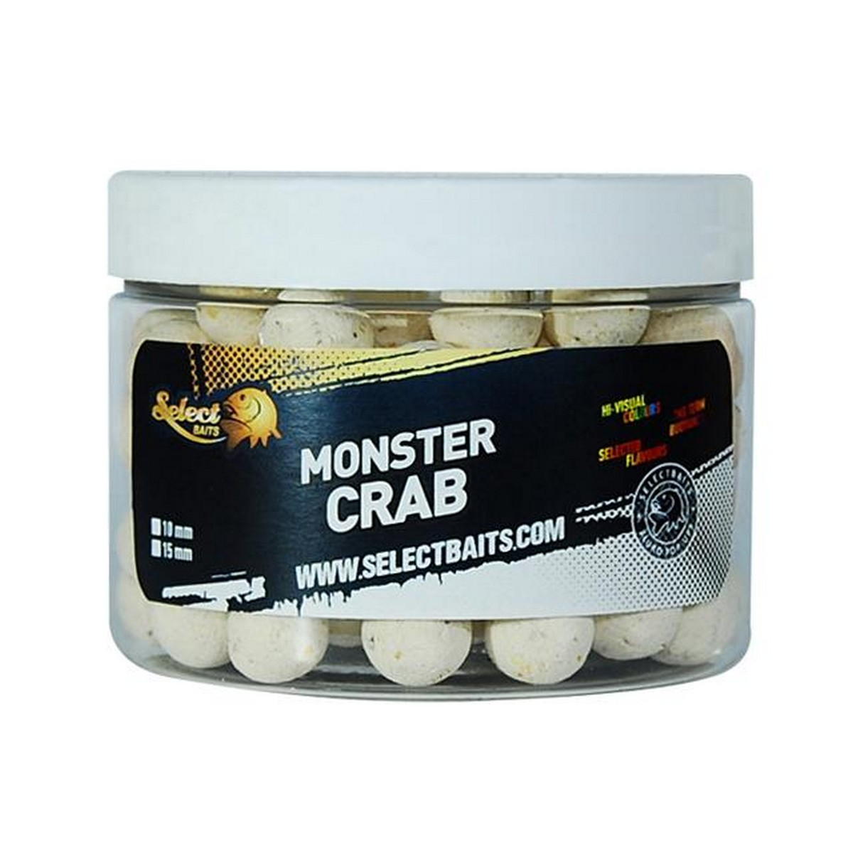 Select Baits Monster Crab Pop-up White – плуващи топчета