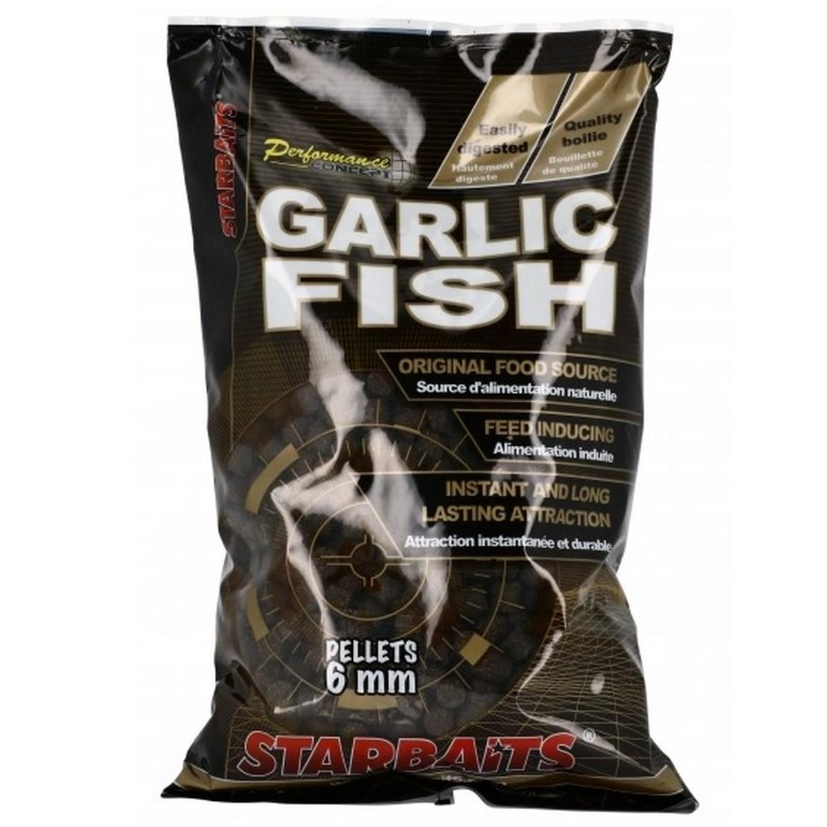 пелети за риболов starbaits garlic fish