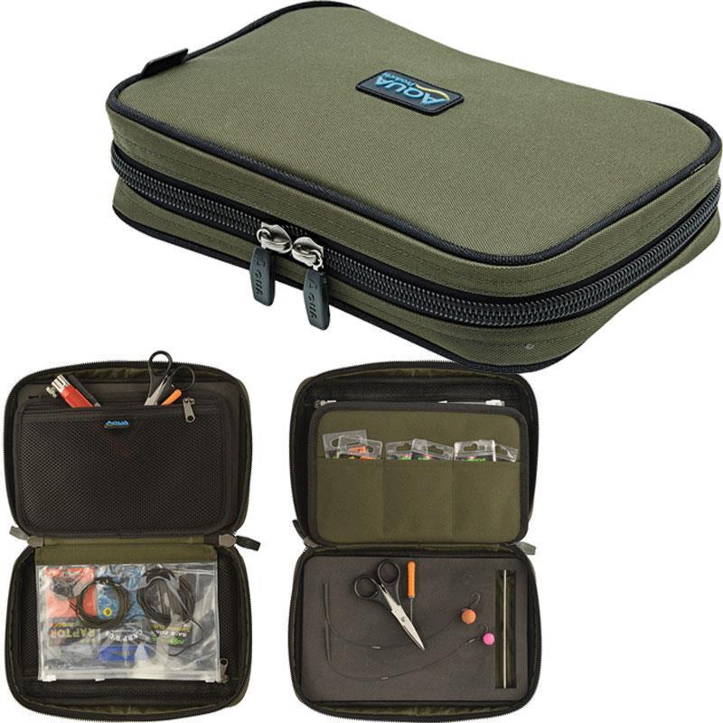 Класьор за аксесоари и поводи Aqua Roving Rig Wallet Black Series