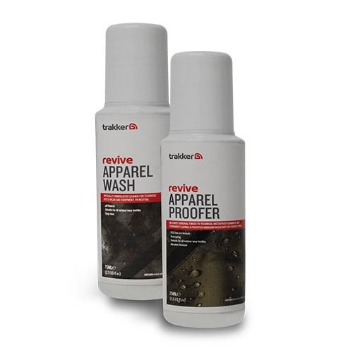 Комплект за почистване на облекло Trakker Revive Apparel Wash & Protect
