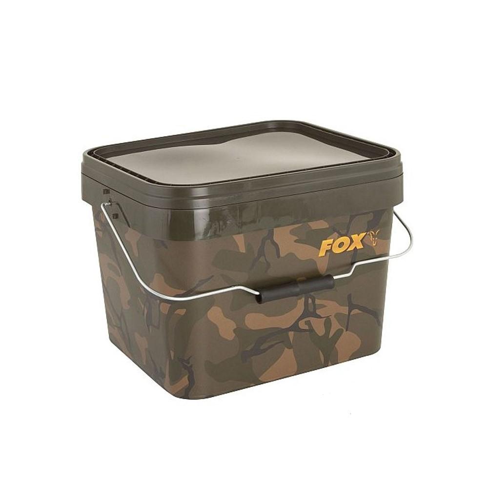 Кофа Fox Camo Square Bucket 10 Litre