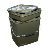 Кофа trakker olive square container 13 ltr inc tray
