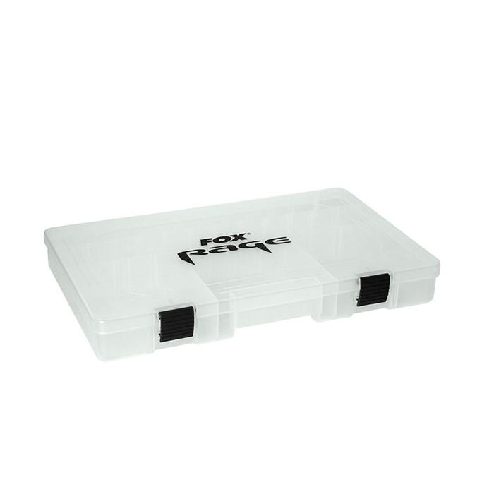 Кутия за риболовни аксесоари Fox Rage Box Large Shallow