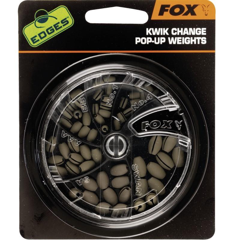 Оливетки Fox Edges Kwik Change Pop Up Weights