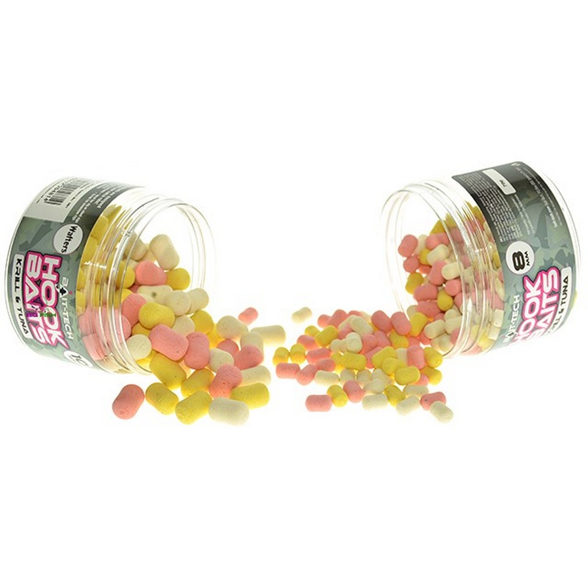 Bait-Tech Krill and Tuna Washed Wafters