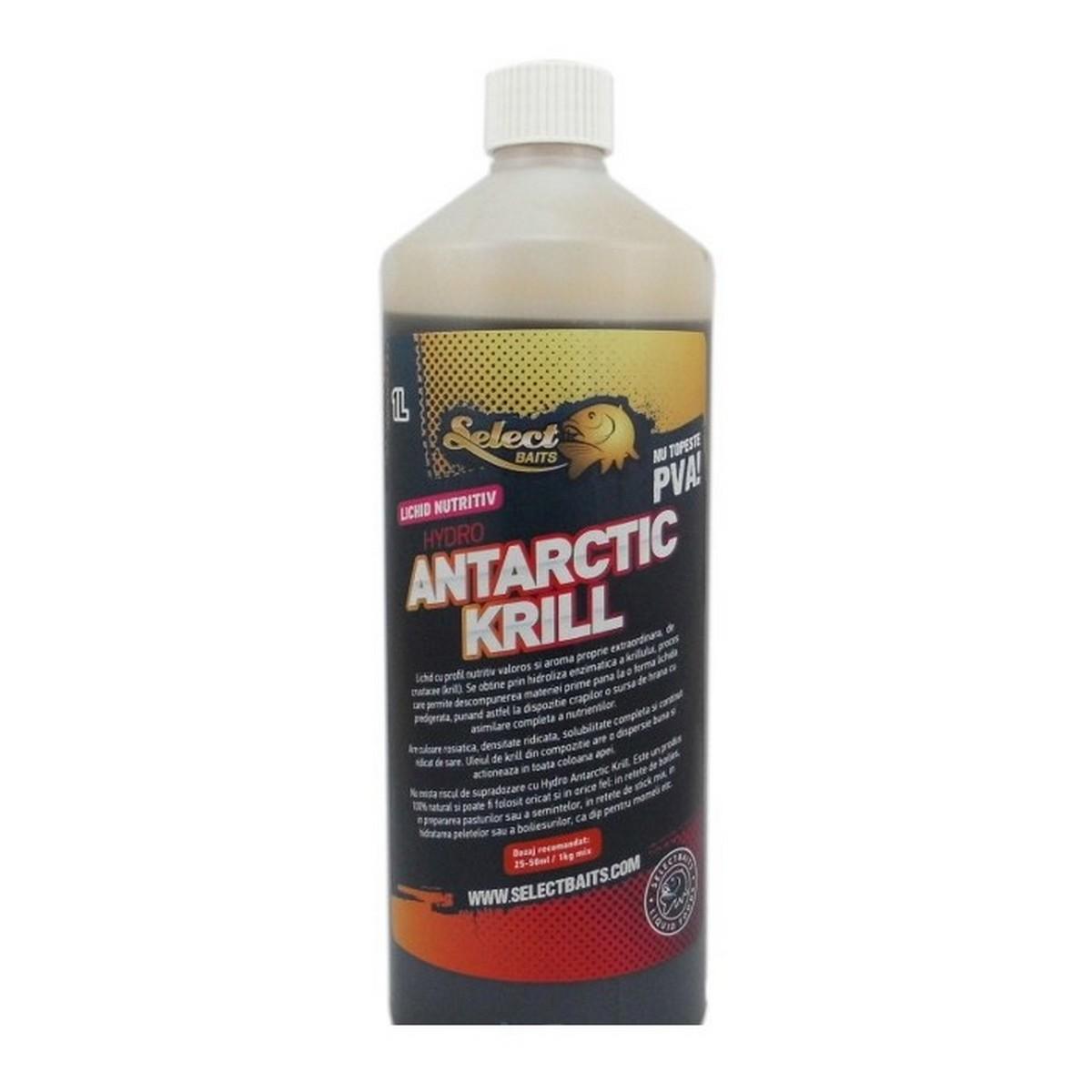 Хранителна течност Hydro Antarctic Krill 1L Select Baits