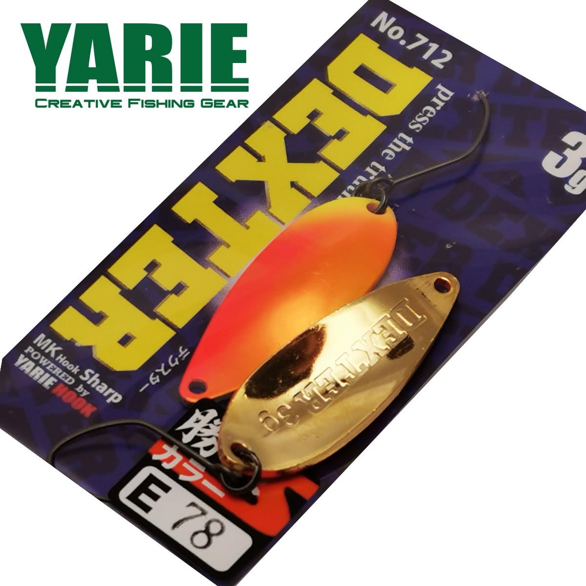 Блесна клатушка Yarie Dexter 3.0gr