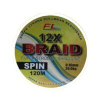 плетено влакно FL 12X Braid Spin - 120м