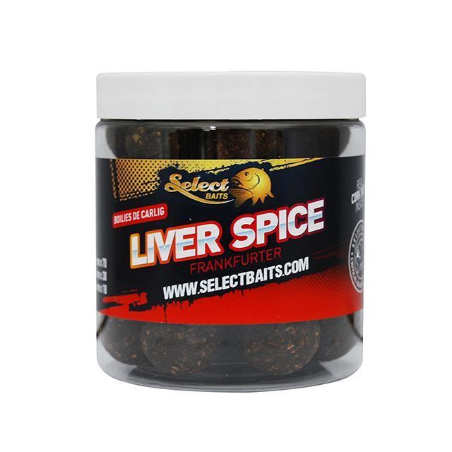 Протеинови топчета Select Baits Liver Spice Critically Balanced