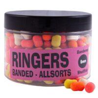 Дъмбели потъващи Ringers Banded Allsorts 6mm