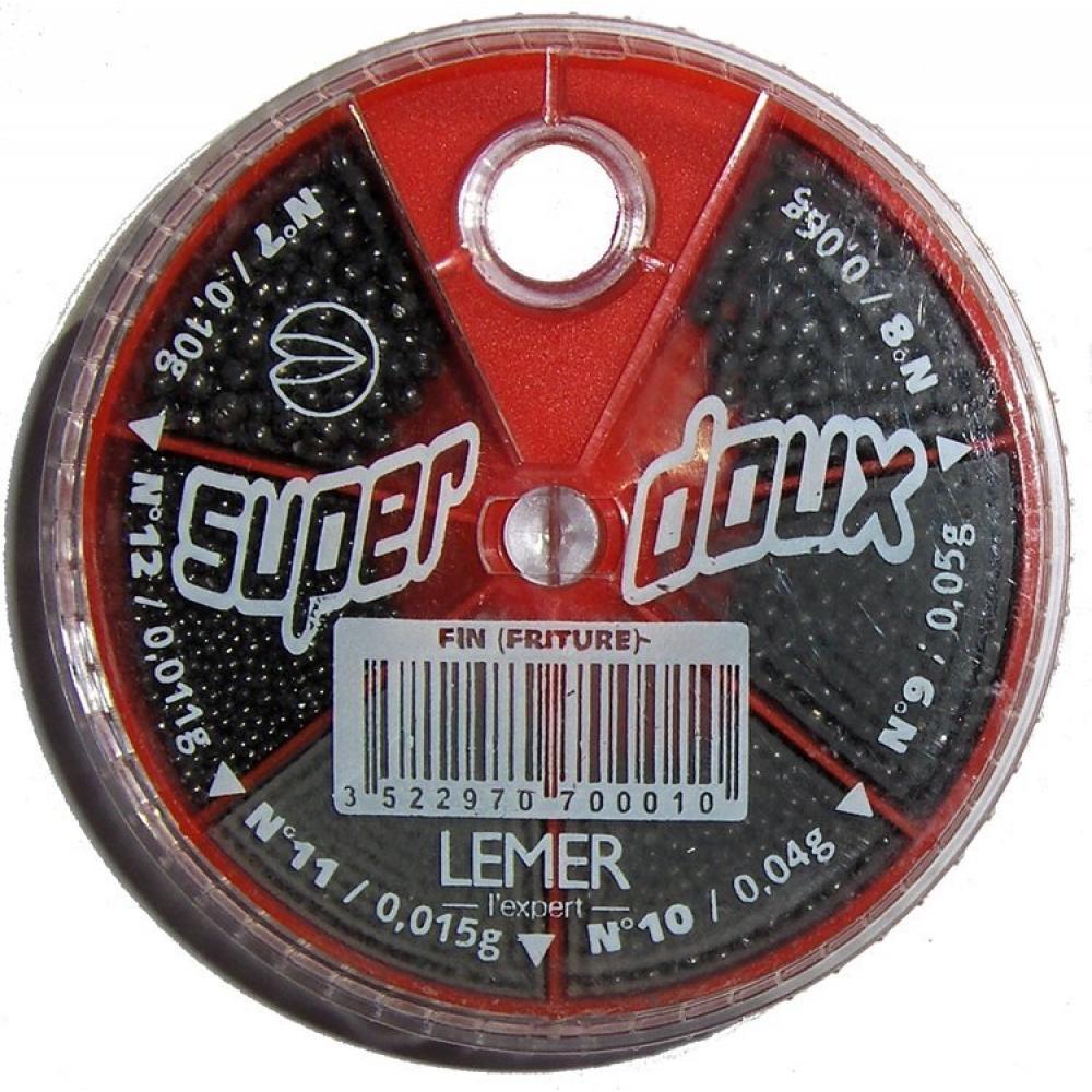 Олово кутия Lemer - червено